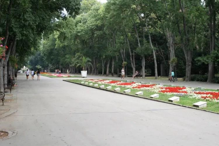 Sea Garden Primorski Park in Varna