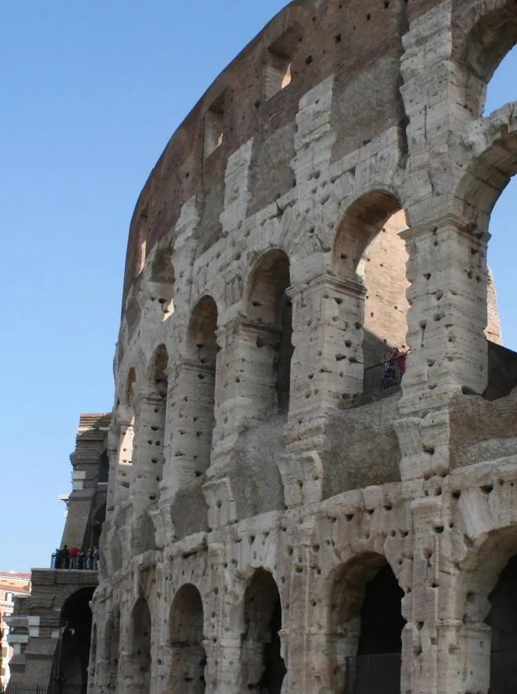 Rome in een dag - het colosseum