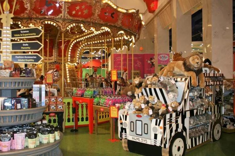 Speelgoedwinkel Praag Tsjechië