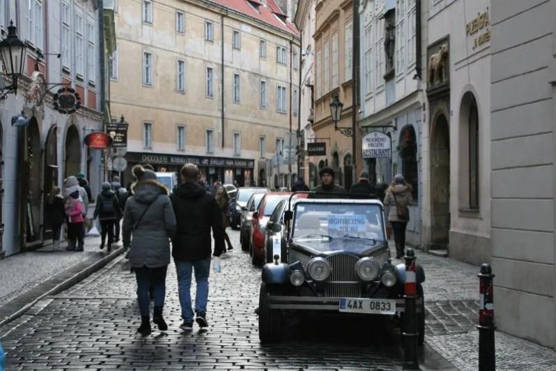 Gezellige straatjes in Praag