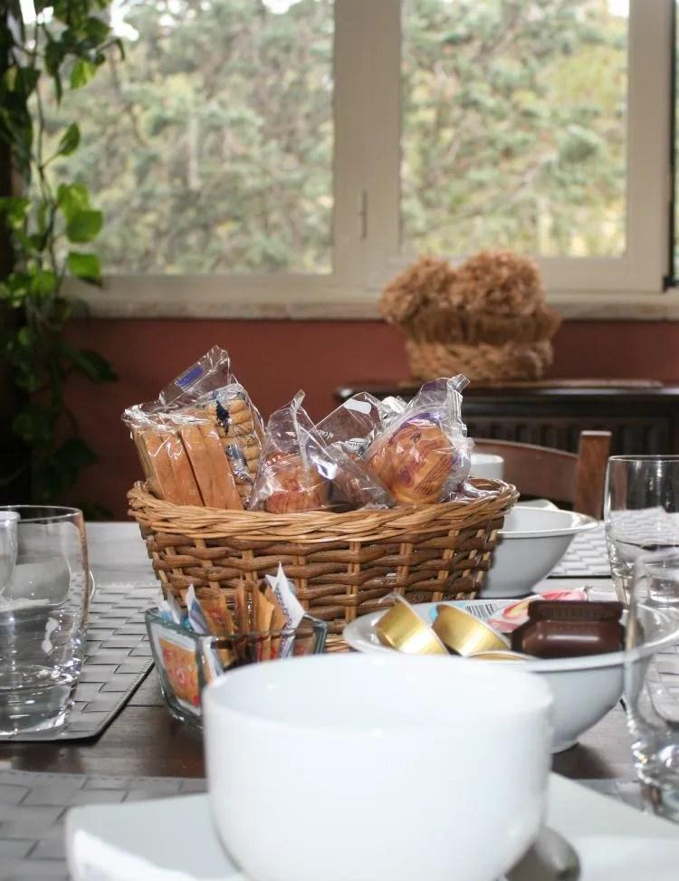Ontbijt Bed & Breakfast Villa degli Olmi in Allumiere