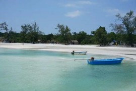 Saracen Bay in Koh Rong Samloem