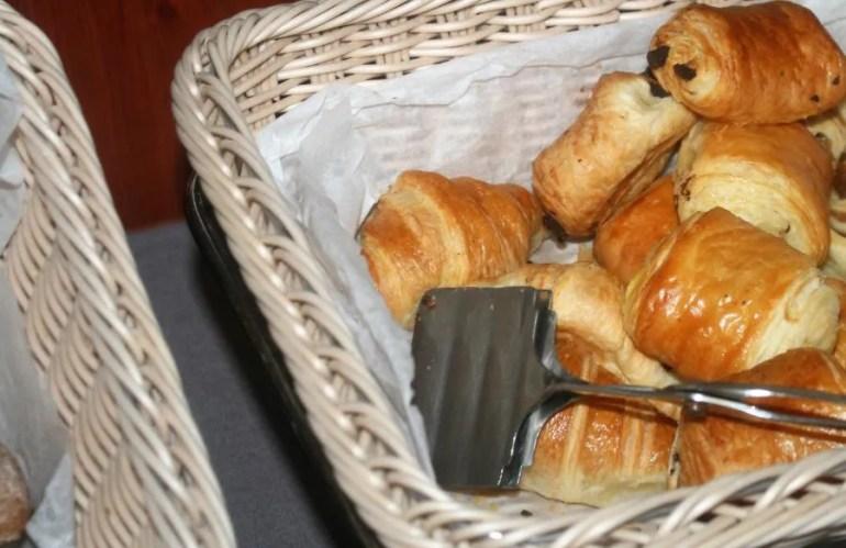 Heerlijk ontbijt bij hotel Mrak in Ljubljana