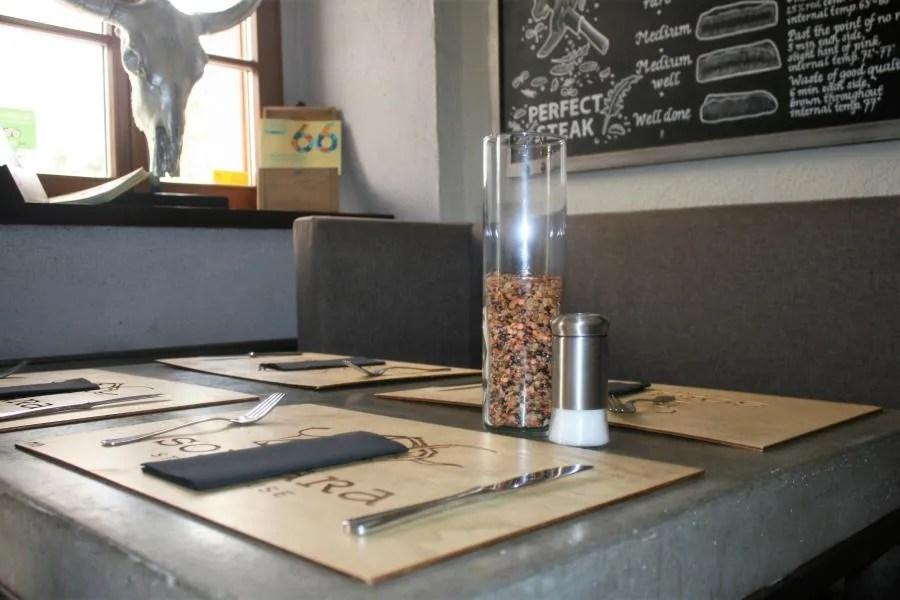 Review van Sorbara Steak House in Ljubljana
