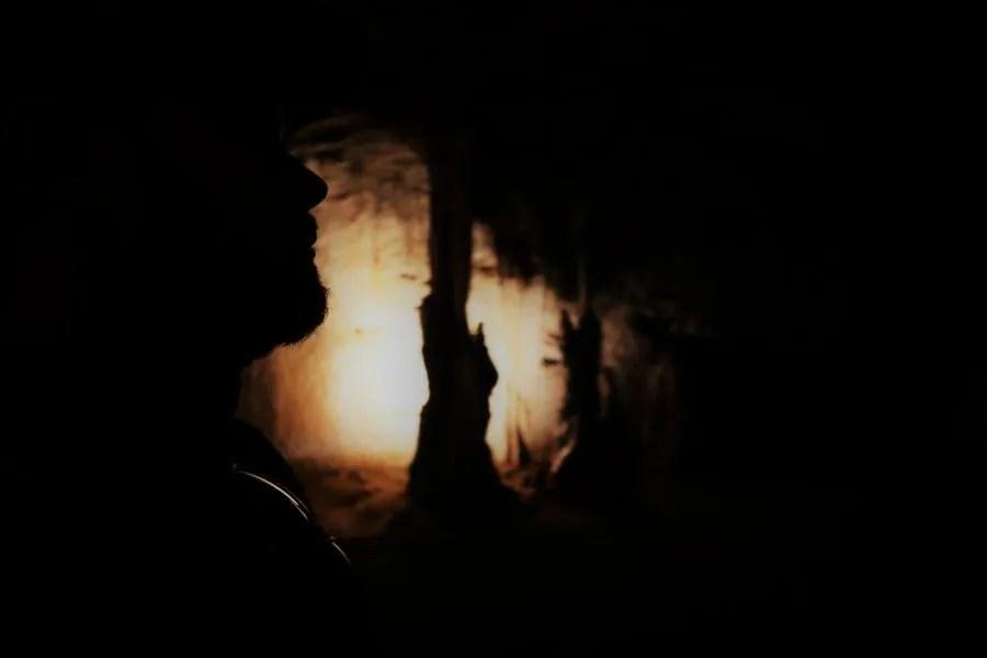 Met de trein door de grotten van Postojna in Slovenië