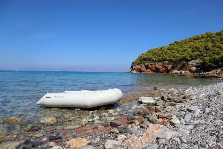 Het idyllische eiland Agistri in Griekenland