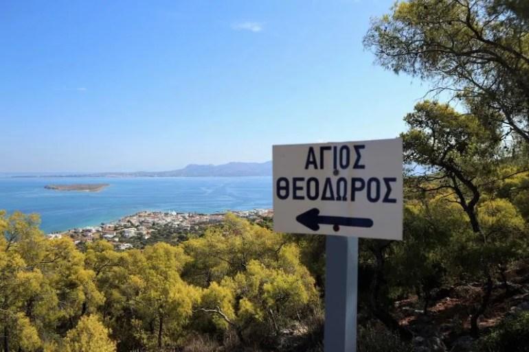 Hiken op Agistri