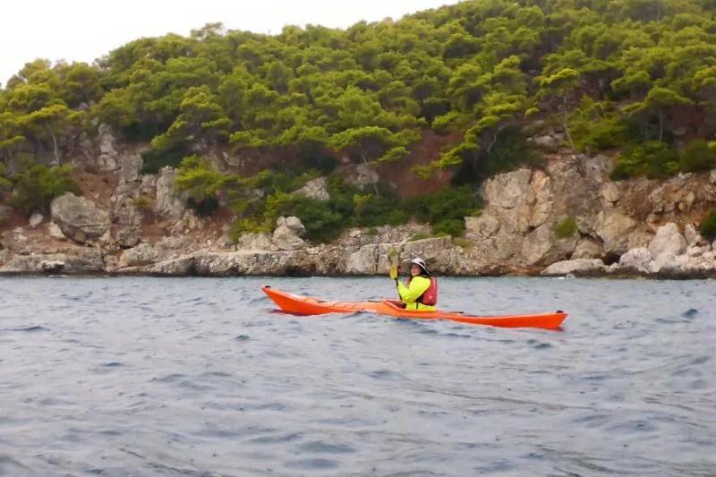 Kajakken op zee: meditatie en ontspanning