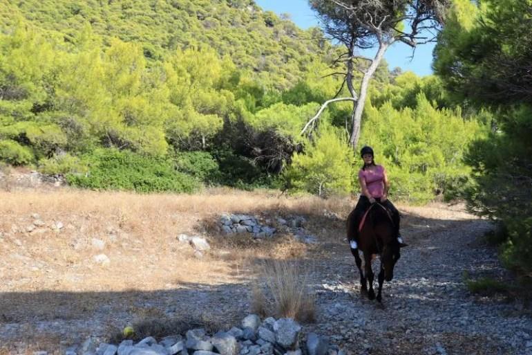 Paardrijden bij Agistri Horse Riding