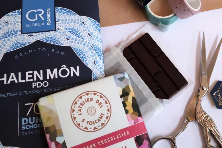 Eerlijke chocolade van de Chocolademeesters