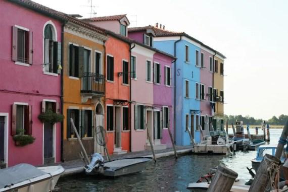 Bezoek de eilanden in de lagune van Venetië