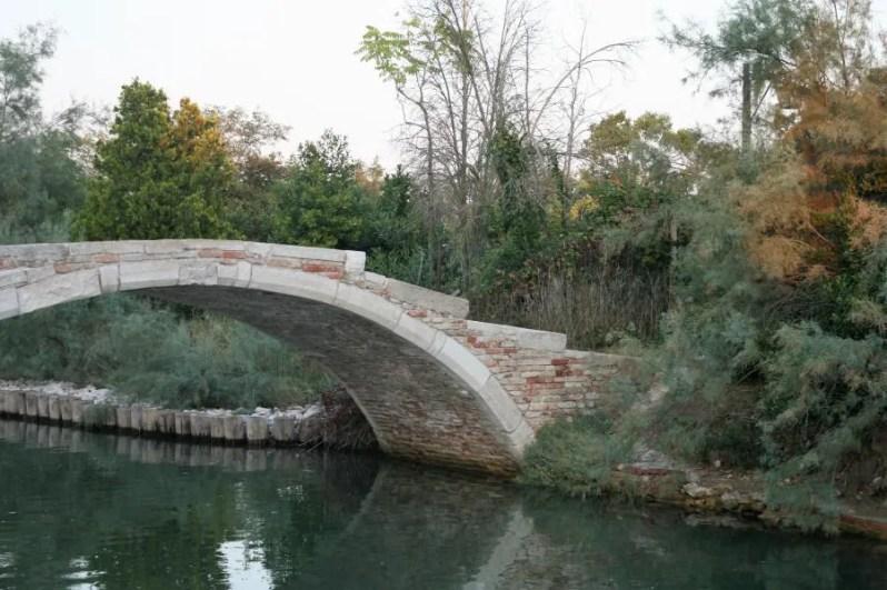 Ponte del Diavolo op het eiland Torcello