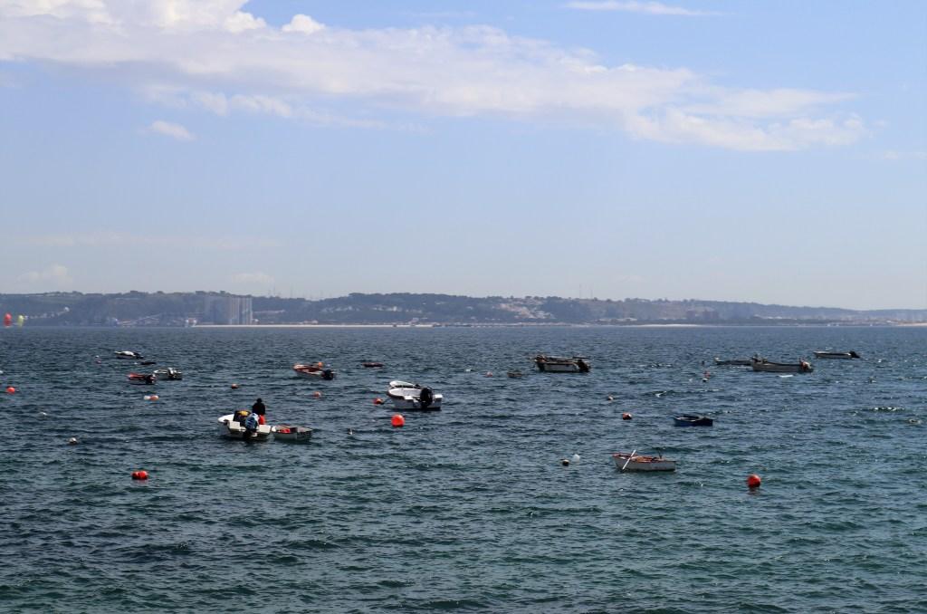 Vissersbootjes in Lissabon