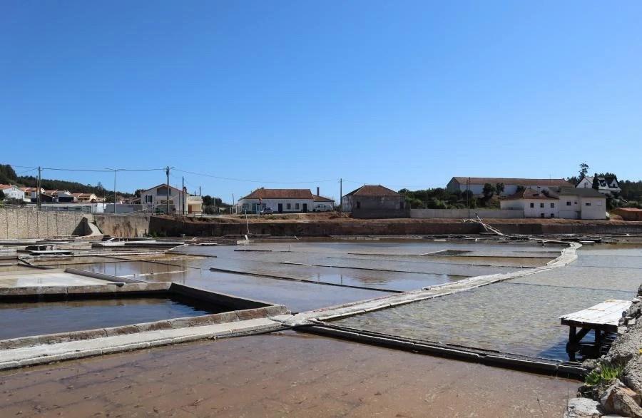 Bezoek aan de zoutmijnen in Portugal