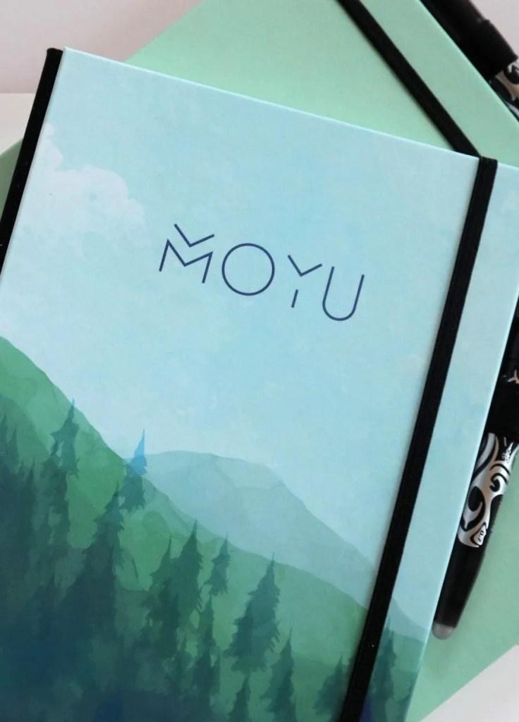 Uitwisbaar en herschrijfbaar notitieboek van MOYU
