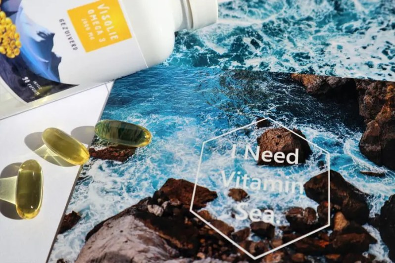Vitamine Zee Omega-3 Visolie capsules