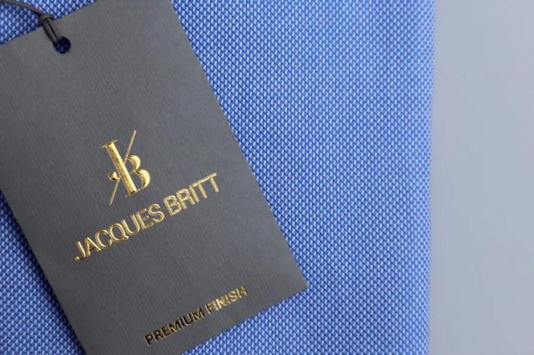 Strijkvrije overhemden van Jacques Britt