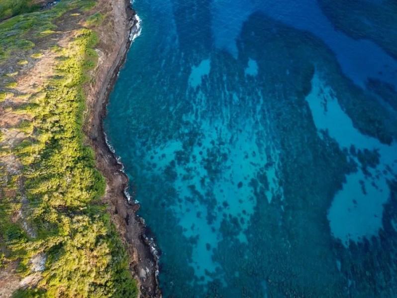 NHanauma Bay in Oahu, Hawaii