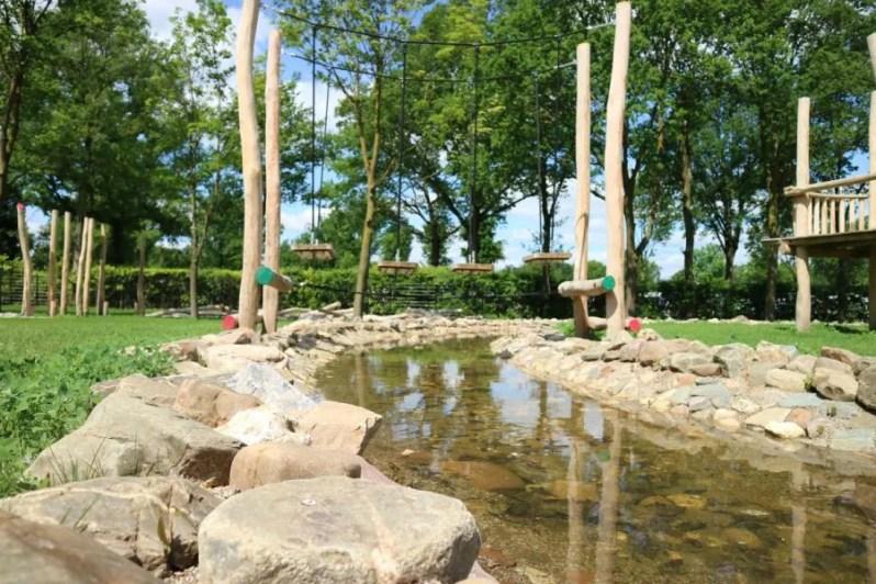 Camping met zwembad en waterspeeltuin