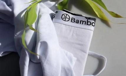 Comfortabele onderkleding van bamboe voor op reis