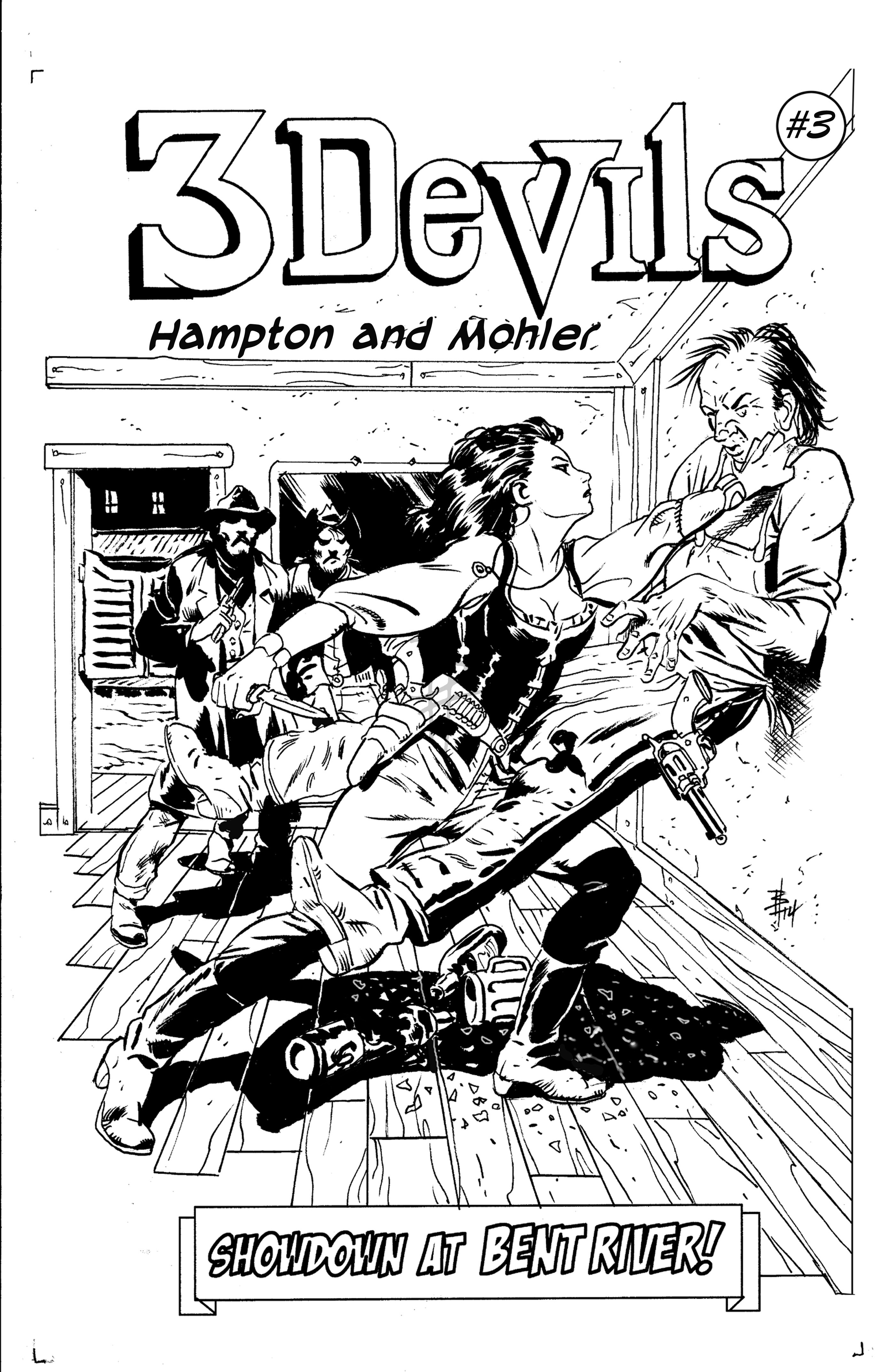 Bo Hampton – Storyboard and Comic Book Artist | The Official Website