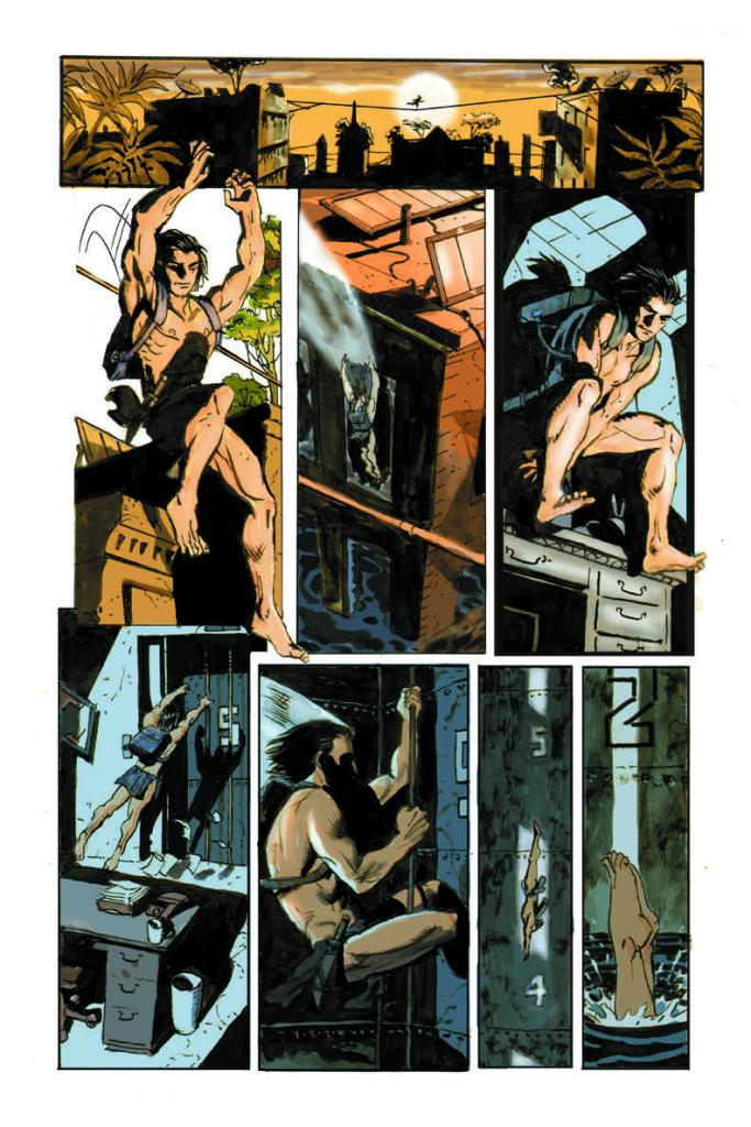 The Once and Future Tarzan #4 Page 3