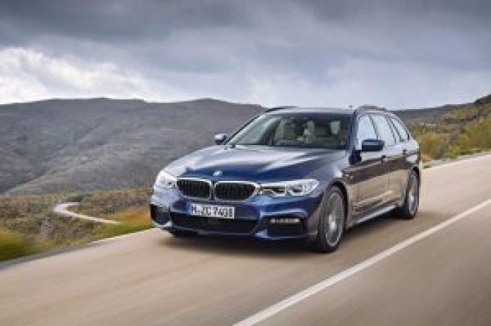 BMW radu 5 Touring predná maska