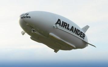 Hybridná vzducholoď Airlander predstavuje luxus na oblohe