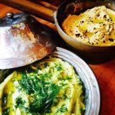 Fava Bean & Hummus Dips