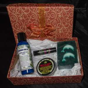 gift box w lotion