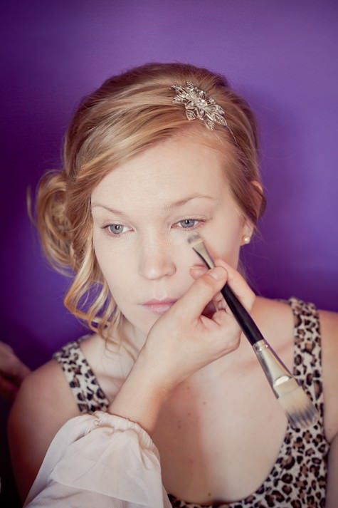 How To Do Bridal Makeup Base : Schools out: How to do bridal make-up - Week 1 Base ...
