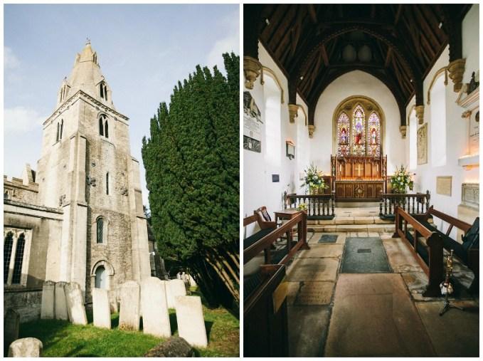 St Marys Church in Duddington