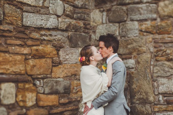 Bright and Fun Homemade Wedding with a Hint of Vintage