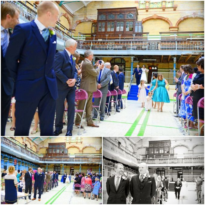 Victorian Swimming Baths Wedding In Manchester By Jules