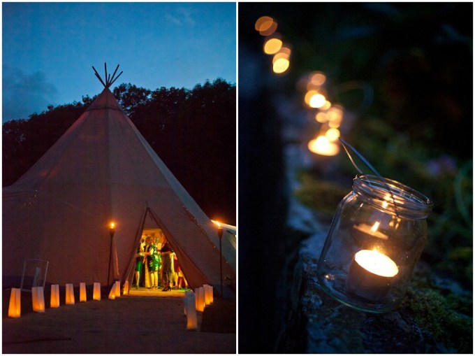 58 Northumberland Tipi wedding by Katy Lunsford