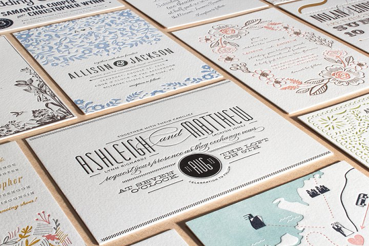 2 Minted Wedding Stationery 1