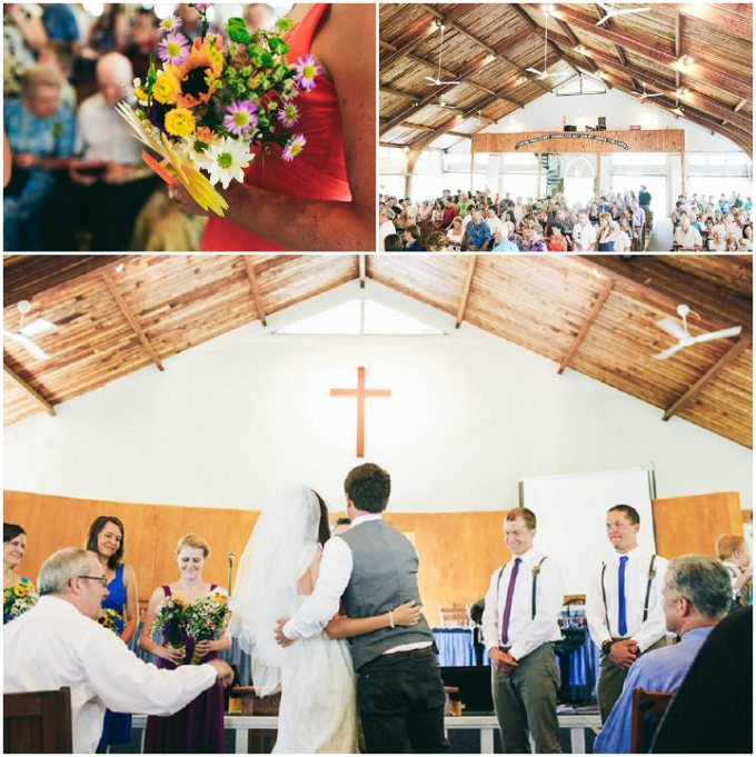 colourful laid back wedding all under 5 000