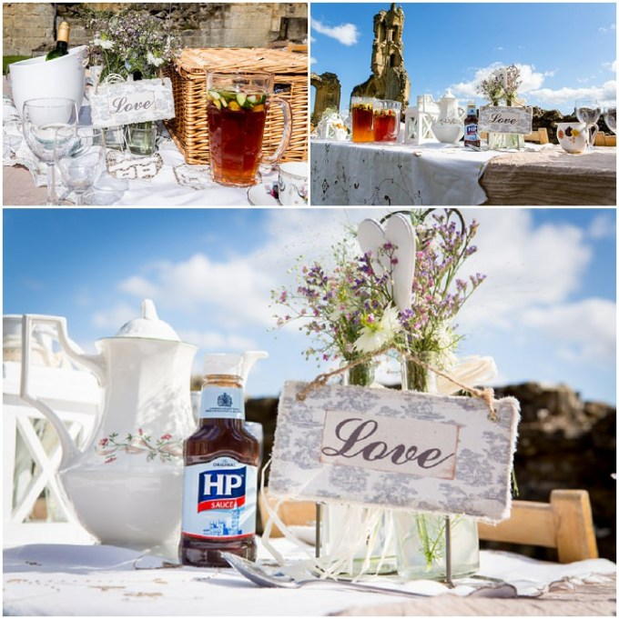 Yorkshire Picnic Wedding At Byland Abbey