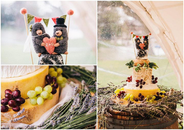 cheese wedding cakes cheshire rustic farm wedding in cheshire by 12606