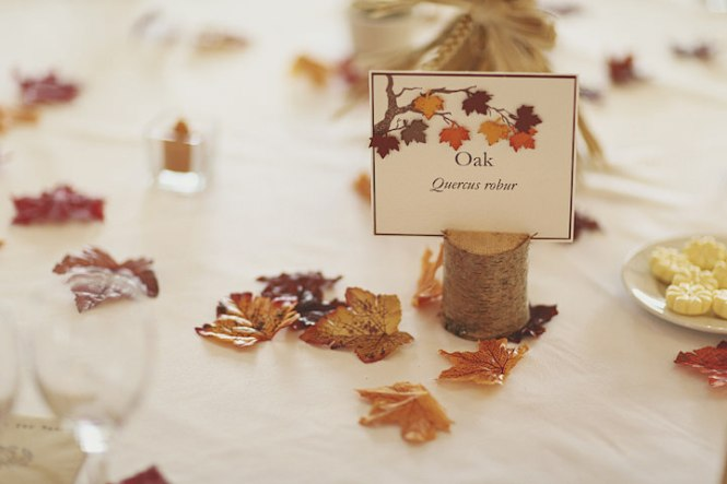 Autumn Wedding Invitations Stylish