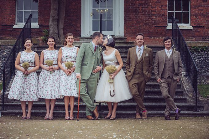 Vintage Barn Wedding with a Candy Anthony Dress. By Tom ...
