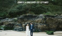1a Cornish Beach Side Wedding By Debs Ivelja