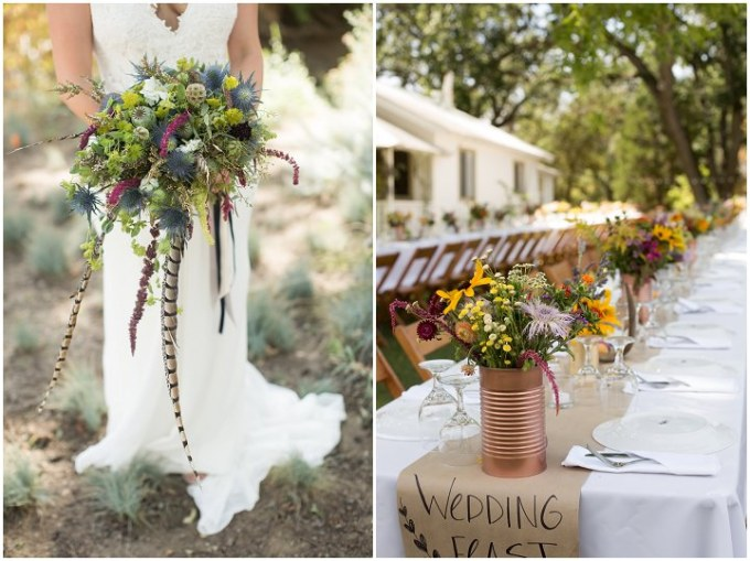 3 Bohemian California Wedding By Images By Lori