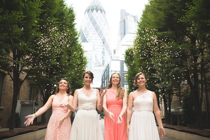 Modern London Wedding By Chris Blackledge Photography
