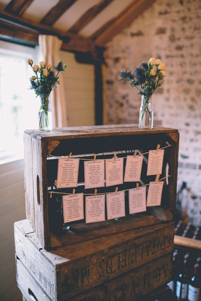 Upwaltham Barns table plan Wedding in West Sussex By Story and Colour