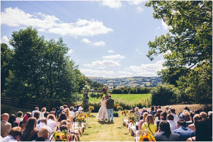 4 Wedding at Clawdd Offa Farm By The Crawleys Photography
