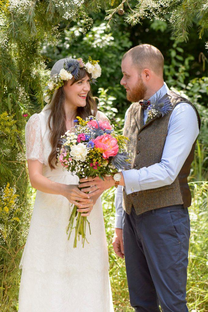 1 Bohemain Handfasting Wedding By Kit Fraser Photography