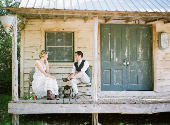 1 Boho Outdoor Rustic Wedding by Alison Epps