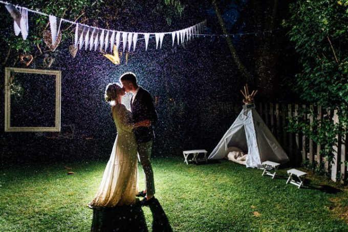 Amber and Joshua's Intimate Home Grown Back Garden Wedding by Anna Pumer Photography
