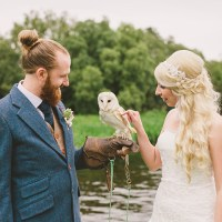 Helena and Neill's Tattoo Loving Northern Ireland Wedding by Divine Photography